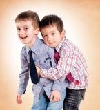 Amour de frères Photographie stock libre de droits