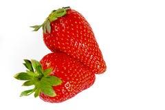 Amour de fraise Images libres de droits