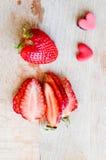 Amour de fraise Image libre de droits
