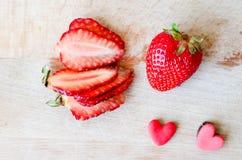 Amour de fraise Image stock
