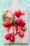Amour de fraise Images stock