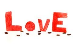 Amour de fruit d'été Image libre de droits