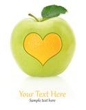 Amour de fruits Image libre de droits