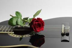 Amour de Guittar Images stock