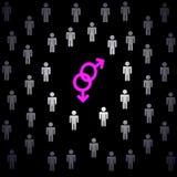 Amour de Homo Photos stock