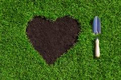 Amour de jardin Photos libres de droits