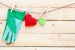 Amour de jardinage Image stock