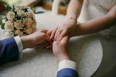 Amour de jour du mariage mon jour Image libre de droits