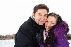 Amour de l'hiver Photos libres de droits