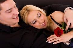 Amour de l'ONU de couples Photo libre de droits