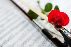 Amour de la musique Photos stock