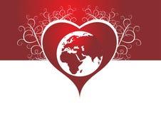 Amour de la terre Images stock