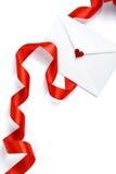 amour de lettre Photos stock