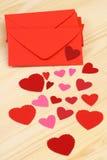 amour de lettre Photos libres de droits