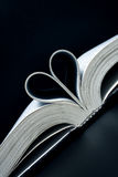 Amour de livre Image stock