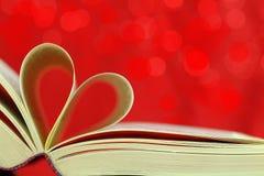 Amour de livre Images stock