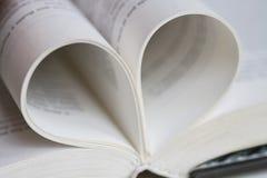Amour de livre Photographie stock libre de droits