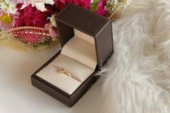 Amour de luxe floral de diamant Image stock
