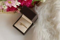 Amour de luxe floral de diamant Photos stock