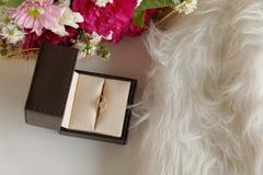 Amour de luxe floral de diamant Photographie stock