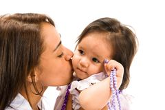Amour de mère Image libre de droits