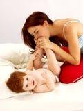Amour de mère. Images libres de droits