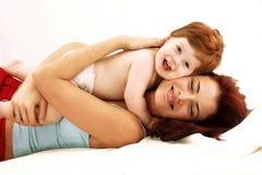 Amour de mère. Photos libres de droits