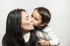 Amour de mère et de fille Photo libre de droits
