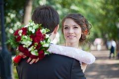 Amour de mariage Photographie stock libre de droits