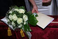 Amour de mariage Photographie stock