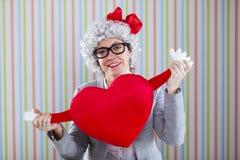 Amour de Mlle Image libre de droits