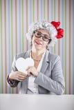 Amour de Mlle Image stock