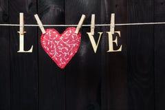 Amour de mot Photo stock