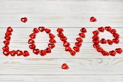 Amour de mot Image libre de droits