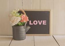 Amour de mots Photo libre de droits