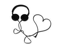 Amour de musique Image stock