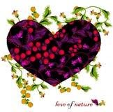 Amour de nature Photos stock