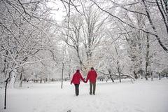Amour de neige Images libres de droits