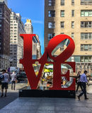 Amour de New York City Photos stock