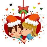 Amour de Noël Images libres de droits