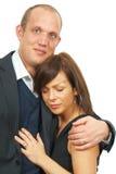 Amour de nouveaux mariés Photographie stock