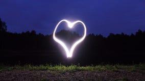 Amour de nuit Images libres de droits