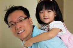 Amour de père Image stock