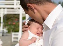 Amour de père Photos stock
