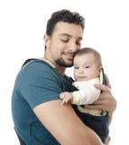 Amour de pères Image libre de droits