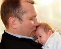 Amour de pères Photos stock