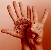 Amour de paix Images libres de droits