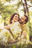 Amour de part avec votre associé Image stock