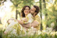 Amour de part avec votre associé chaque jour Photographie stock libre de droits