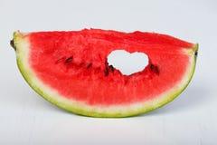 Amour de pastèque Image libre de droits